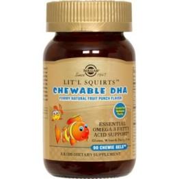 CHILDREN'S CHEWABLE DHA SOLGAR chewie-gels 90s ΣΥΜΠΛΗΡΩΜΑΤΑ