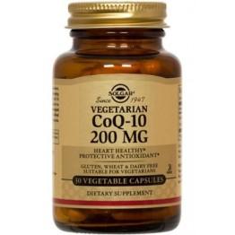 COENZYME Q-10 (ΣΥΝΕΝΖΥΜΟ Q-10) SOLGAR 200mg veg.caps 30s ΕΝΔΥΝΑΜΩΣΗ & ΑΝΑΠΛΑΣΗ