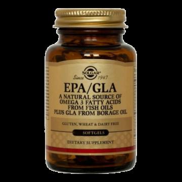 EPA/GLA SOLGAR softgels 30s ΜΕΙΓΜΑΤΑ Ω3/Ω6/Ω9