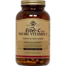 ESTER-C (ΒΙΤΑΜΙΝΗ C) SOLGAR 500mg veg.caps 50s