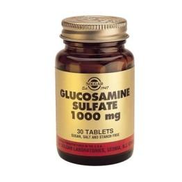 GLUCOSAMINE SULPHATE (ΘΕΪΙΚΗ ΓΛΥΚΟΖΑΜΙΝΗ) SOLGAR 1000mg tabs 60s ΑΡΘΡΙΤΙΔΑ - ΟΣΤΕΟΑΡΘΡΙΤΙΔΑ