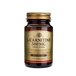 L-CARNITINE (L-ΚΑΡΝΙΤΙΝΗ) SOLGAR 500mg tabs 30s