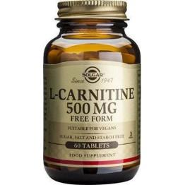 L-CARNITINE (L-ΚΑΡΝΙΤΙΝΗ) SOLGAR 500mg tabs 30s ΛΙΠΙΔΙΑ ΑΙΜΑΤΟΣ