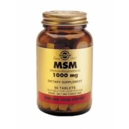 MSM (ΟΡΓΑΝΙΚΟ ΘΕΙΟ) SOLGAR 1000mg tabs 60s