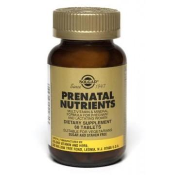PRENATAL NUTRIENTS SOLGAR tabs 120s