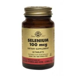 SELENIUM (ΣΕΛΗΝΙΟ) SOLGAR 100μg tabs 100s ΟΖΟΙ