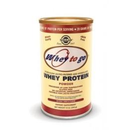 WHEY TO GO PROTEIN VANILLA powder (ΠΡΩΤΕΪΝΗ ΟΡΟΥ ΓΑΛΑΚΤΟΣ) SOLGAR 340gr (βανίλια)
