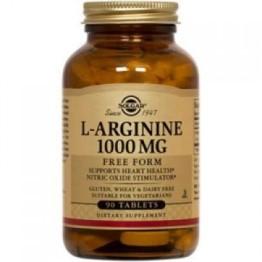 L-ARGININE (L-ΑΡΓΙΝΙΝΗ) SOLGAR 1000mg tabs 90s ΥΠΕΡΤΑΣΗ