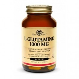 L-GLUTAMINE (L-ΓΛΟΥΤΑΜΙΝΗ) SOLGAR 1000mg tabs 60s