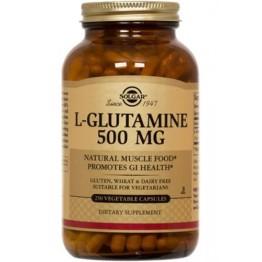 L-GLUTAMINE (L-ΓΛΟΥΤΑΜΙΝΗ) SOLGAR 500mg veg.caps 50s ΕΝΔΥΝΑΜΩΣΗ & ΑΝΑΠΛΑΣΗ
