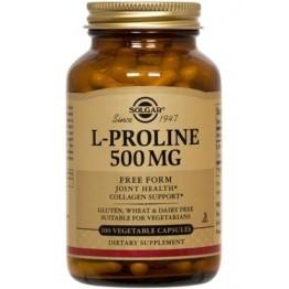 L-PROLINE (L-ΠΡΟΛΙΝΗ) SOLGAR 500mg veg.caps 100s ΑΡΘΡΙΤΙΔΑ - ΟΣΤΕΟΑΡΘΡΙΤΙΔΑ