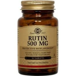 RUTIN (ΡΟΥΤΙΝΗ) SOLGAR 500mg tabs 50s ΠΕΡΙΟΔΟΝΤΙΤΙΔΑ