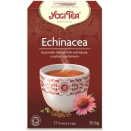 ECHINACEA TEA BIO (ΠΡΟΣΤΑΤΕΥΤΙΚΟ, ΕΝΔΥΝΑΜΩΣΗ) YOGI TEA 17 φακελάκια ΤΣΑΪ