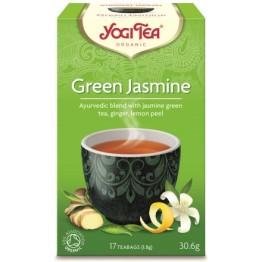 GREEM JASMINE TEA BIO (ΔΡΟΣΕΡΟ, ΤΟΝΩΤΙΚΟ) YOGI TEA 17 φακελάκια ΤΣΑΪ