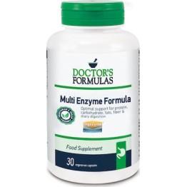 DOCTOR'S FORMULA MULTI ENZYME FORMULA 30caps