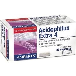 ACIDOPHILUS EXTRA 4 (ΠΡΟΒΙΟΤΙΚΟ) LAMBERTS 30caps ΠΡΟΒΙΟΤΙΚΑ